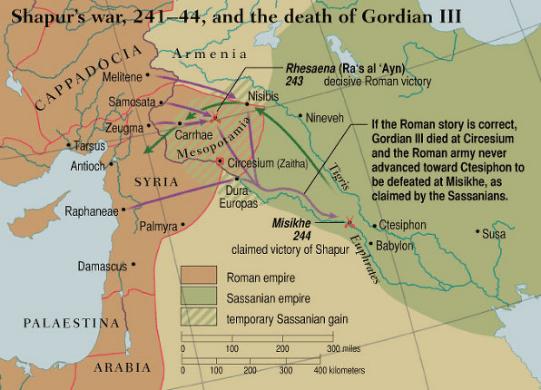 Gordiano III contra Sapor
