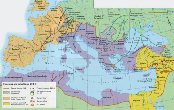 La Roma de los 3 imperios