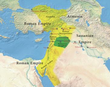 Dominios de Septimio Odenato